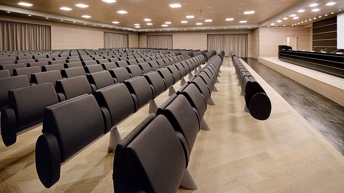 Lamm tulip fauteuils auditorium