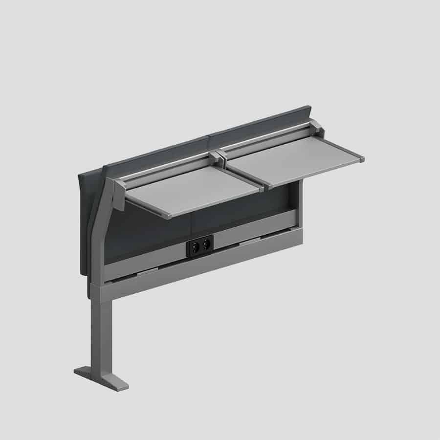Lamm E5000 fauteuils avec tables