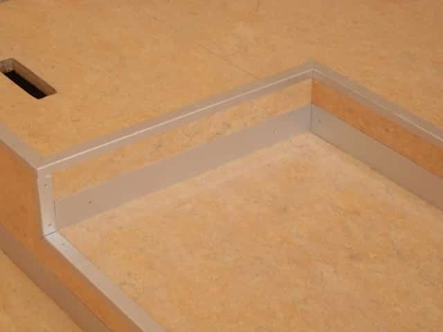 Linoleum et PVC tribunes