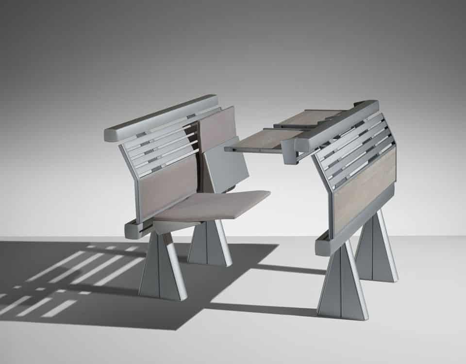 mobilier amphitheatre runner
