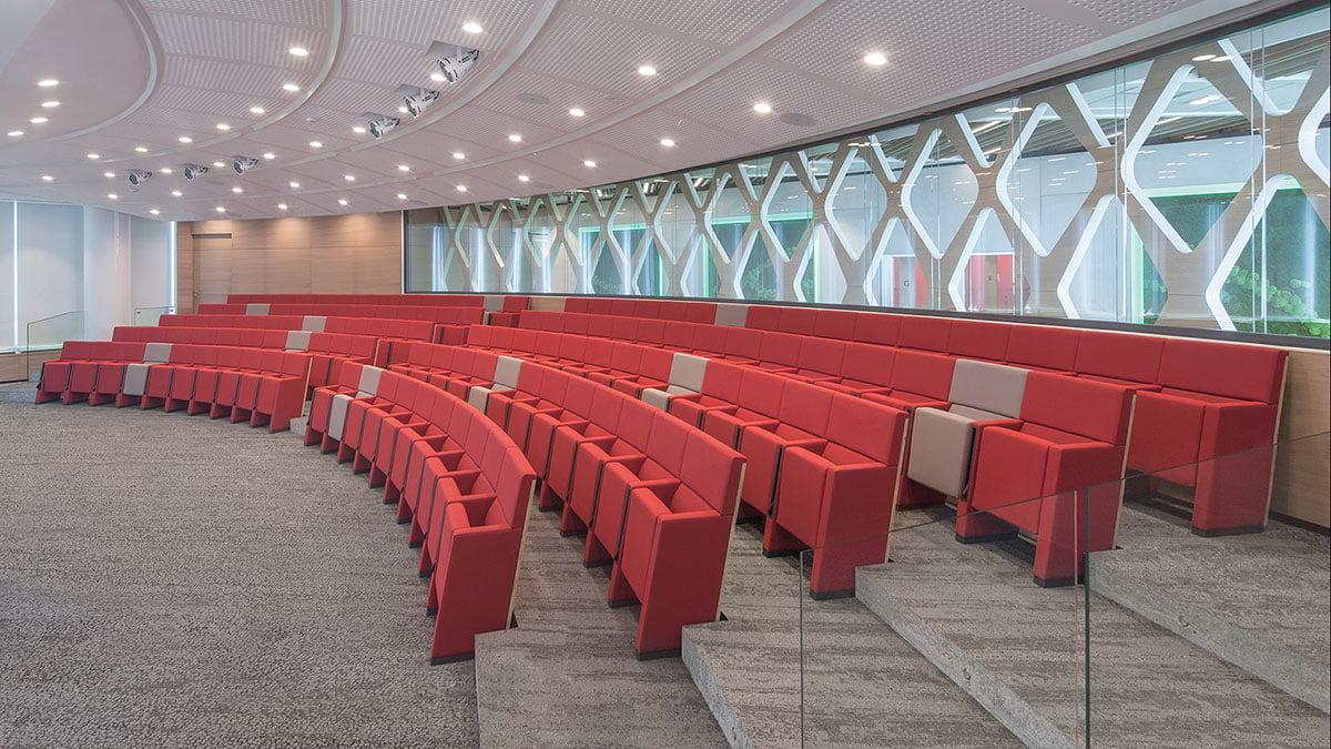 aménagement auditorium lamm L213