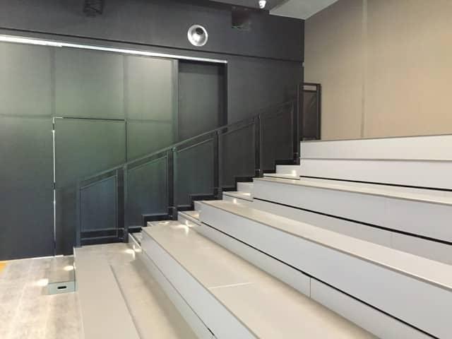 Installation tribune fixe
