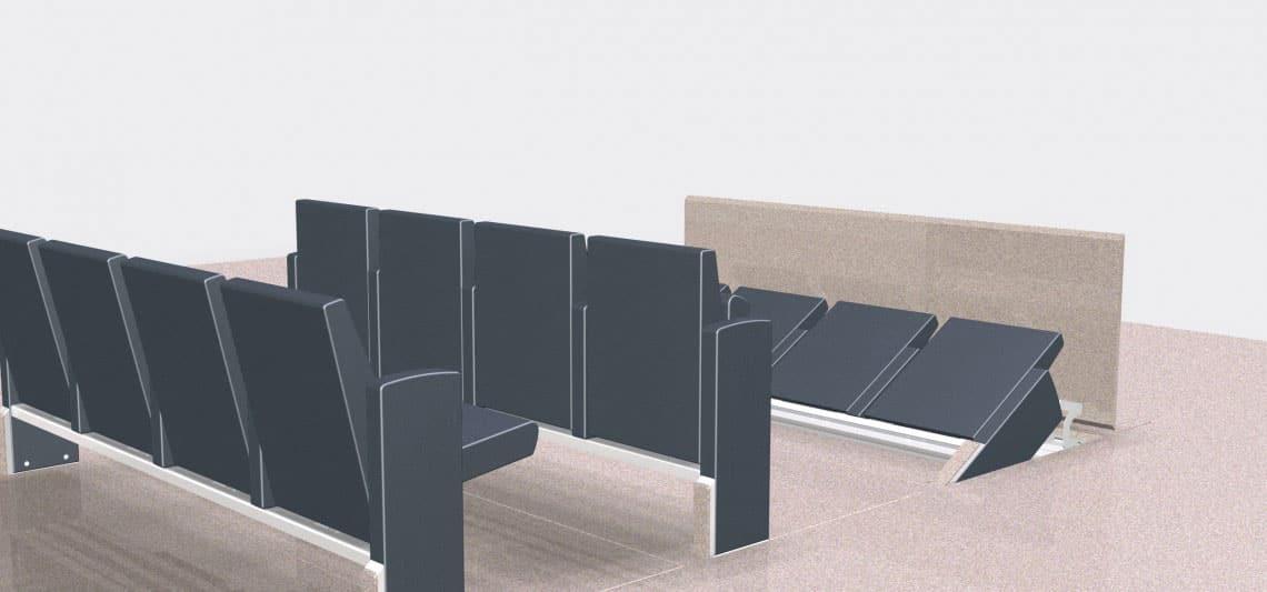 fauteuil escamotable  V9.9-V9.1