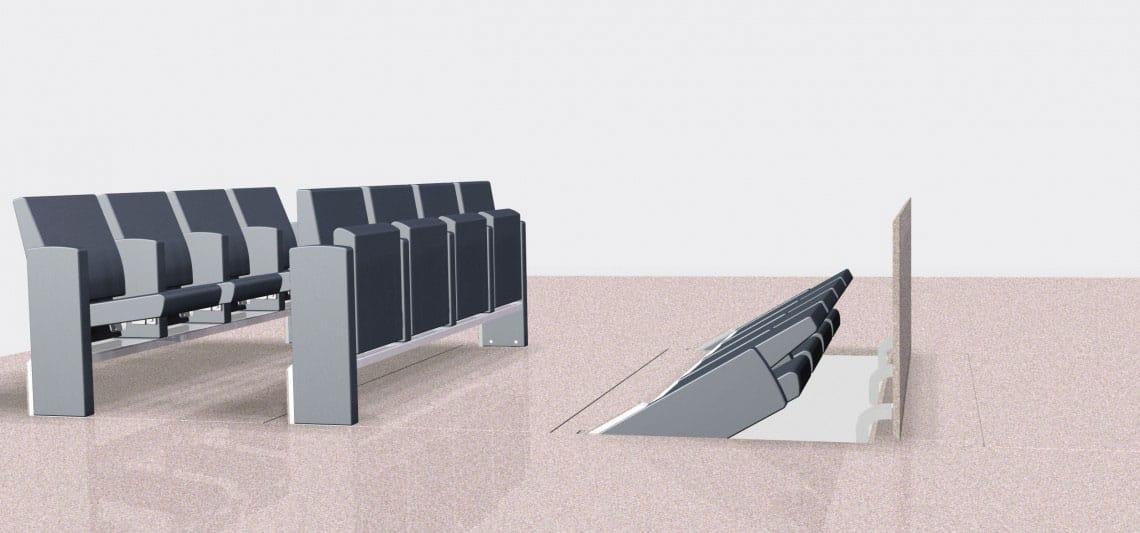 fauteuils escamotable V9.9-V9.1