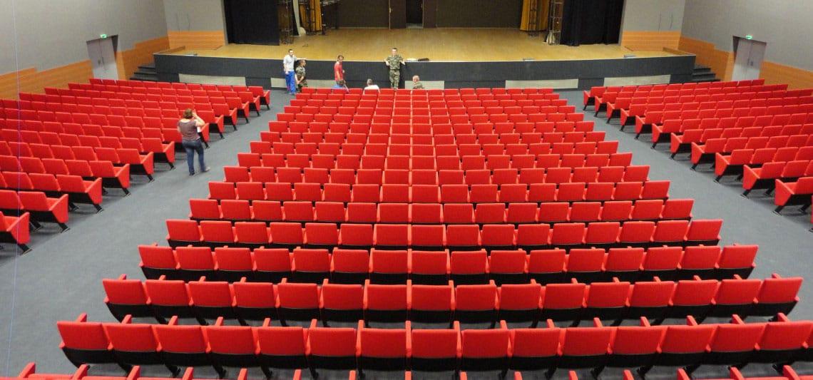 aménagement sièges théatres
