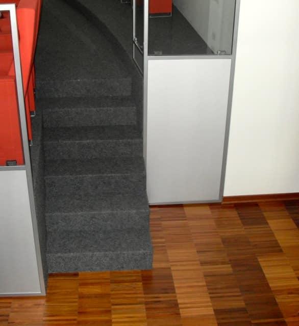 Gradins fixe escalier