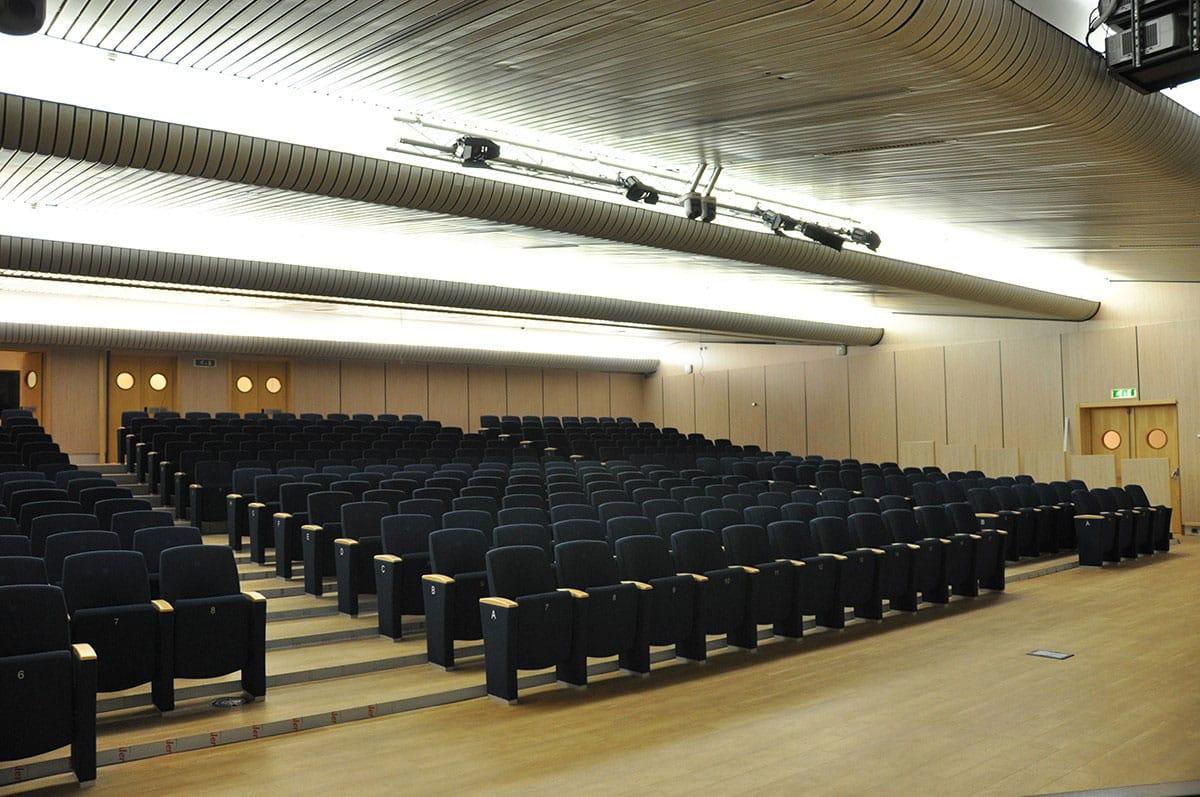 siege aménagement auditorium