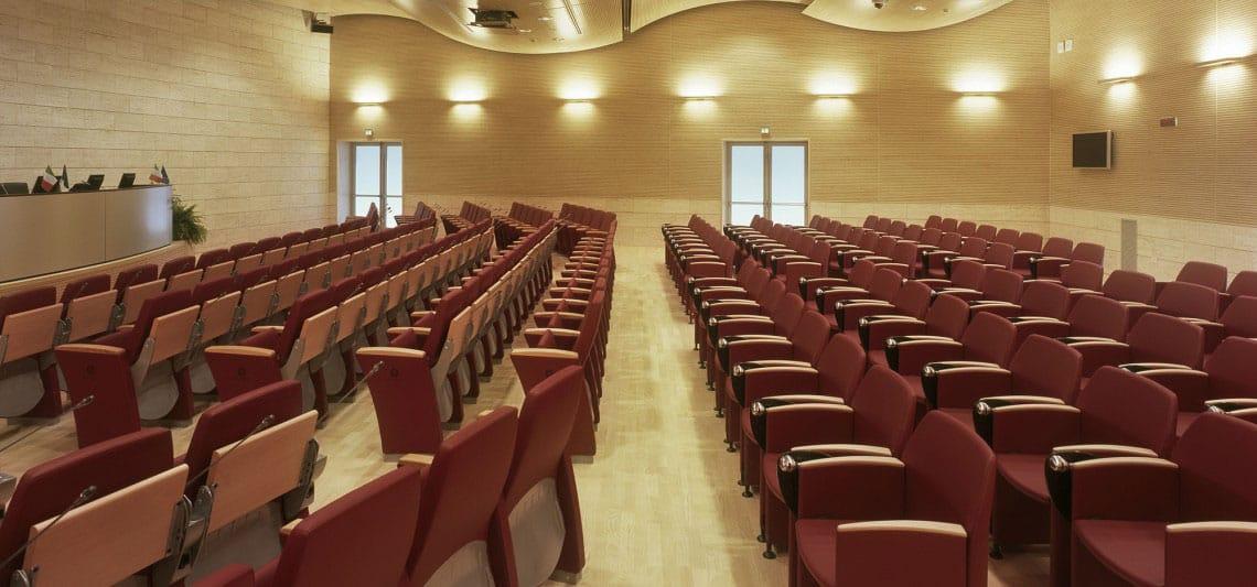 auditorium sièges genesis