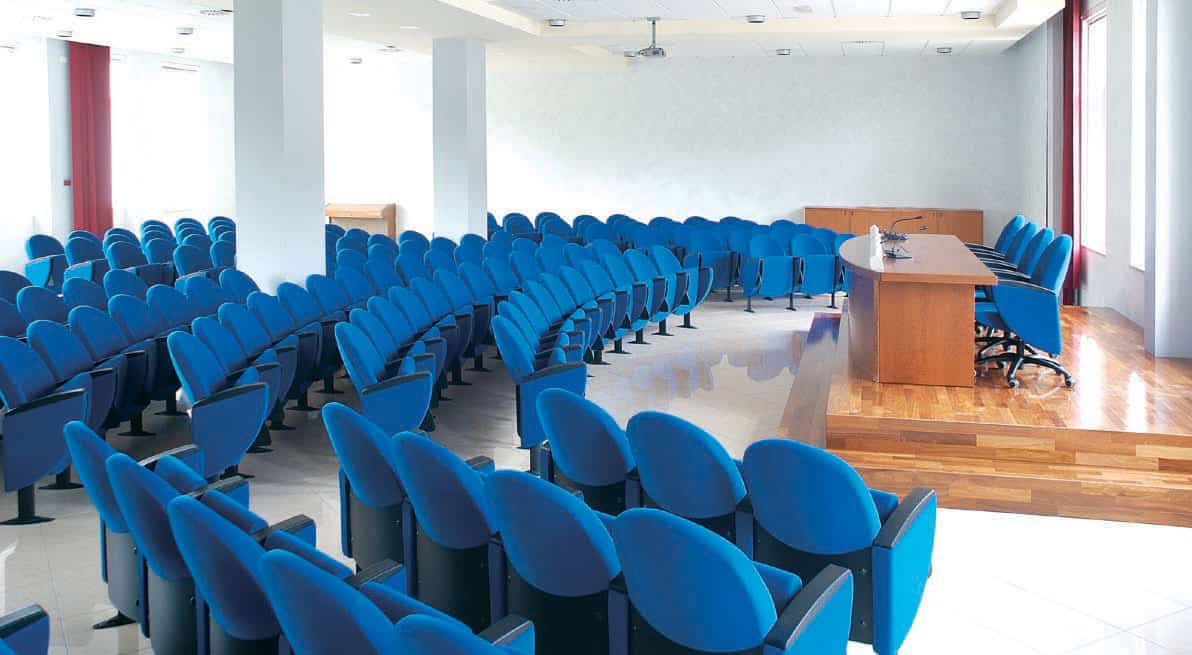aménagement auditorium metropolitan