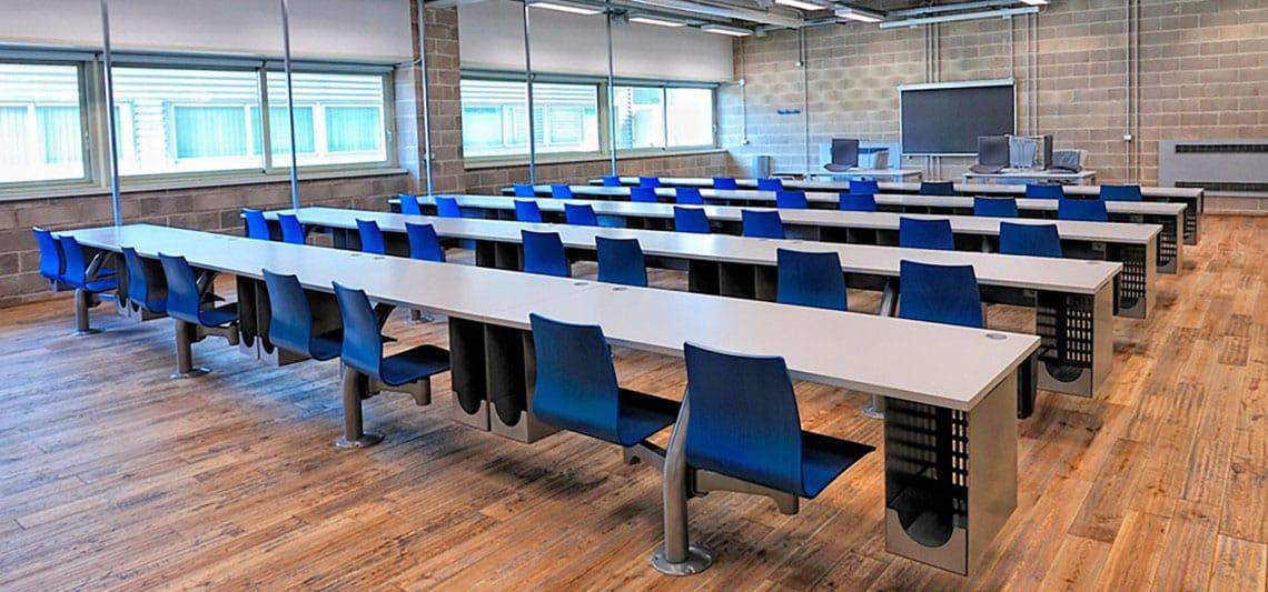 aménagement salle lecture