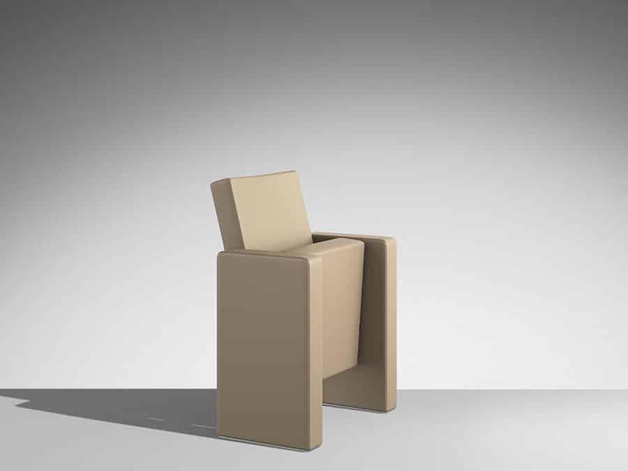 F50 fauteuil, amphi