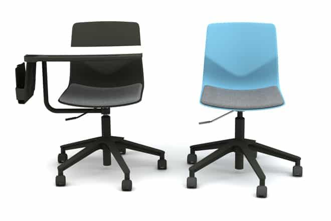 chaise-de-formation-four-sure66-design-avec ecritoire