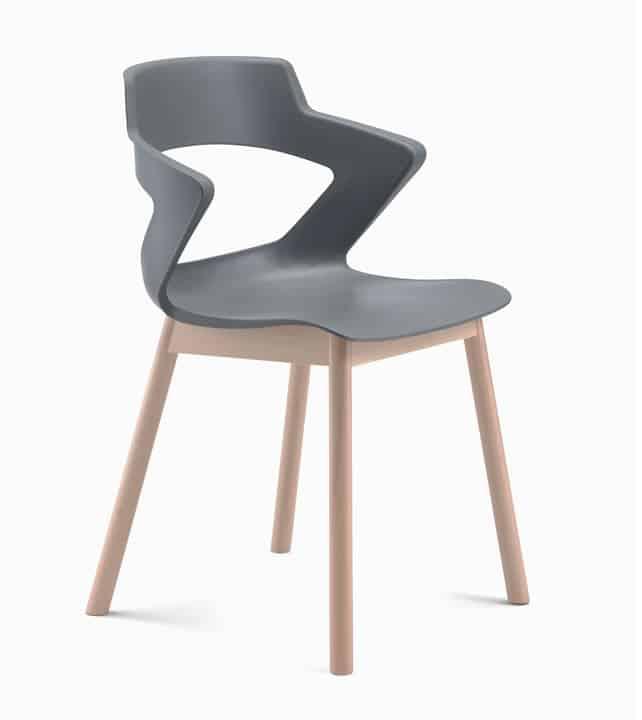 chaise yeti bois