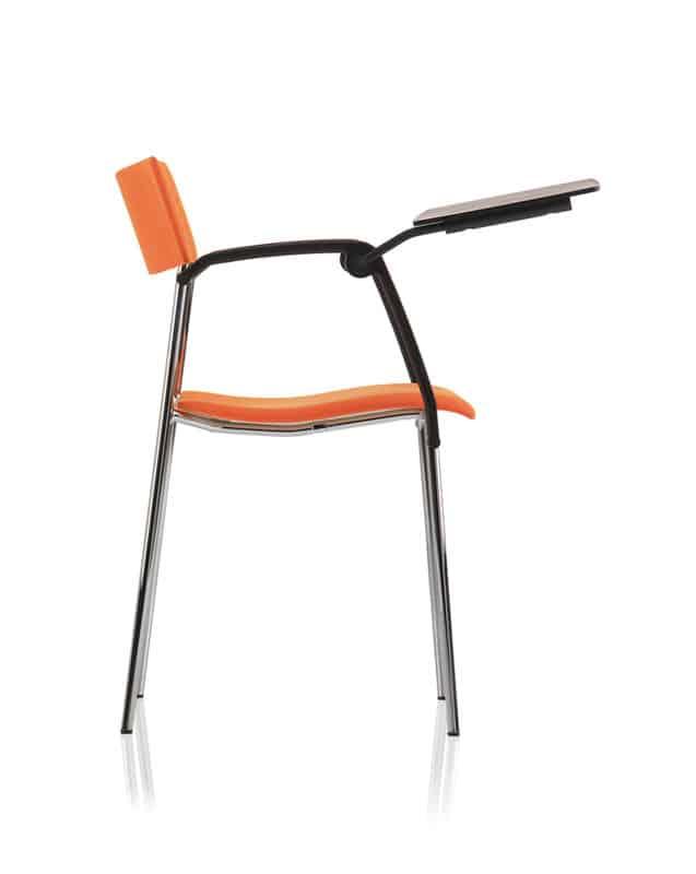 chaise scolaire campus tablette